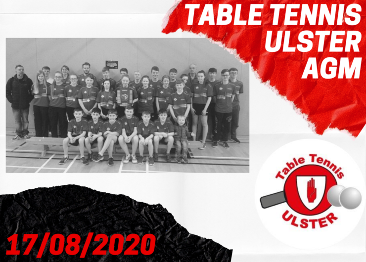 Table Tennis Ulster Annual General Meeting (AGM)